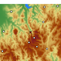 Nearby Forecast Locations - Mount Beauty - Χάρτης