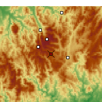 Nearby Forecast Locations - Mount Hotham - Χάρτης