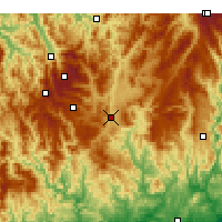 Nearby Forecast Locations - Omeo - Χάρτης