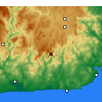 Nearby Forecast Locations - Combienbar - Χάρτης