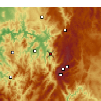 Nearby Forecast Locations - Khancoban - Χάρτης