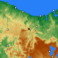 Nearby Forecast Locations - Erriba - Χάρτης