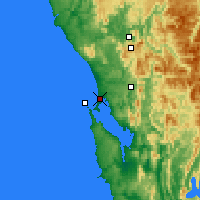 Nearby Forecast Locations - Strahan - Χάρτης