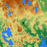 Nearby Forecast Locations - Ouse - Χάρτης