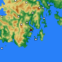 Nearby Forecast Locations - Dover - Χάρτης