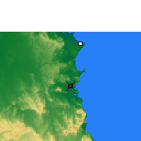 Nearby Forecast Locations - Cooktown - Χάρτης
