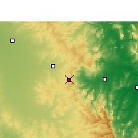 Nearby Forecast Locations - Toowoomba - Χάρτης