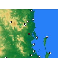 Nearby Forecast Locations - Beerburrum - Χάρτης