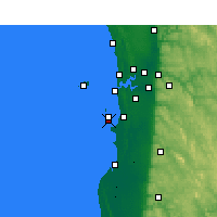 Nearby Forecast Locations - Garden Island - Χάρτης