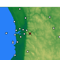 Nearby Forecast Locations - Kalamunda - Χάρτης