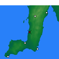 Nearby Forecast Locations - Roxby Downs - Χάρτης