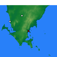 Nearby Forecast Locations - Port Lincoln - Χάρτης
