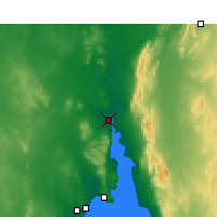 Nearby Forecast Locations - Port Augusta - Χάρτης