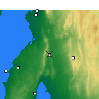 Nearby Forecast Locations - Rayville Park - Χάρτης
