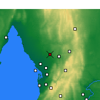 Nearby Forecast Locations - Roseworthy - Χάρτης