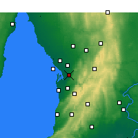 Nearby Forecast Locations - Parafield - Χάρτης