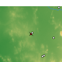 Nearby Forecast Locations - West Wyalong - Χάρτης
