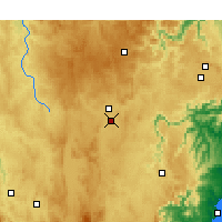 Nearby Forecast Locations - Goulburn Airport - Χάρτης
