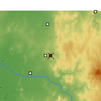 Nearby Forecast Locations - Parkes - Χάρτης