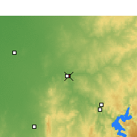 Nearby Forecast Locations - Dubbo - Χάρτης