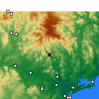 Nearby Forecast Locations - Lostock - Χάρτης