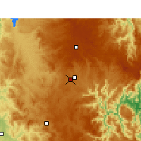 Nearby Forecast Locations - Armidale - Χάρτης