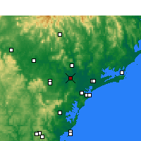 Nearby Forecast Locations - Maitland - Χάρτης
