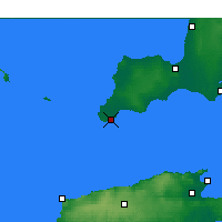Nearby Forecast Locations - Stenhouse Bay - Χάρτης