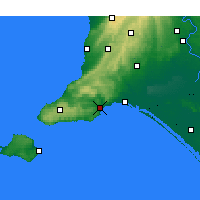 Nearby Forecast Locations - Victor Harbor - Χάρτης