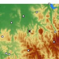 Nearby Forecast Locations - Edi Upper - Χάρτης