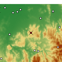 Nearby Forecast Locations - Strathbogie - Χάρτης