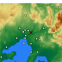 Nearby Forecast Locations - Viewbank - Χάρτης