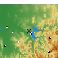 Nearby Forecast Locations - Albury - Χάρτης