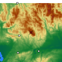 Nearby Forecast Locations - Mount Baw Baw - Χάρτης