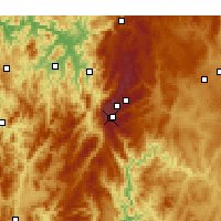 Nearby Forecast Locations - Thredbo - Χάρτης