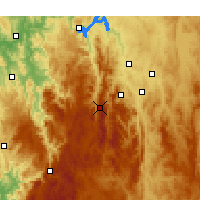 Nearby Forecast Locations - Mount Ginini - Χάρτης