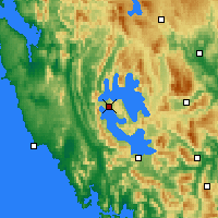 Nearby Forecast Locations - Strathgordon - Χάρτης