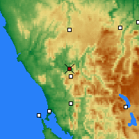Nearby Forecast Locations - Rosebery - Χάρτης