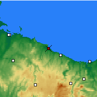 Nearby Forecast Locations - Wynyard - Χάρτης