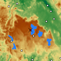Nearby Forecast Locations - Liawenee - Χάρτης
