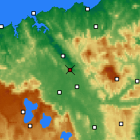 Nearby Forecast Locations - Launceston Airport - Χάρτης