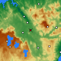 Nearby Forecast Locations - Powranna - Χάρτης