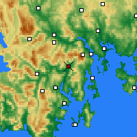 Nearby Forecast Locations - Grove - Χάρτης