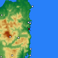 Nearby Forecast Locations - Scamander - Χάρτης