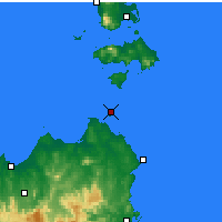 Nearby Forecast Locations - Swan Island - Χάρτης