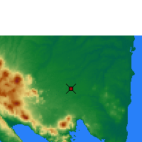 Nearby Forecast Locations - Bandar Lampung - Χάρτης