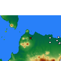 Nearby Forecast Locations - Serang - Χάρτης