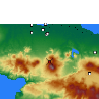 Nearby Forecast Locations - Citeko - Χάρτης