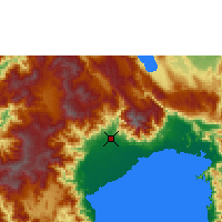 Nearby Forecast Locations - Masamba - Χάρτης