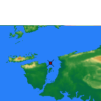 Nearby Forecast Locations - Sorong - Χάρτης